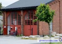 Konsthallen Lokstallet har utställningar som visar nutida konst och konsthantverk av hög kvalitet.