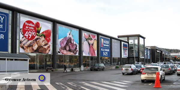 Nordby köpcentrum