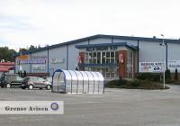 Svinesunds handelsområde är mindre än Nordby Shoppingcenter och består av ett flertal byggnader inom området väster om gamla E6, söder om gamla Svinesundsbron. Utbudet är mindre varierat och består främst av livsmedel, godis och tobak.